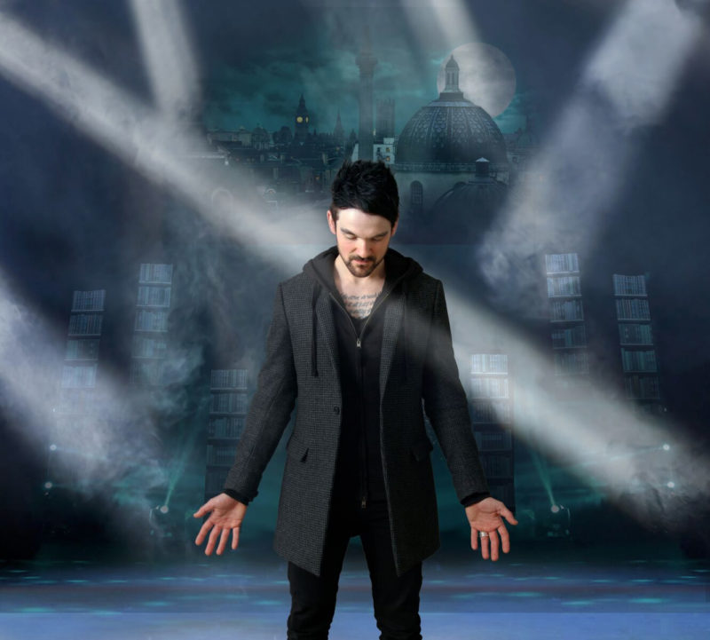 "Colin Cloud, known as ""The Deductionist"" takes the stage."