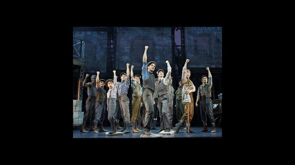 TOUR - Newsies - CU - wide - 11/14