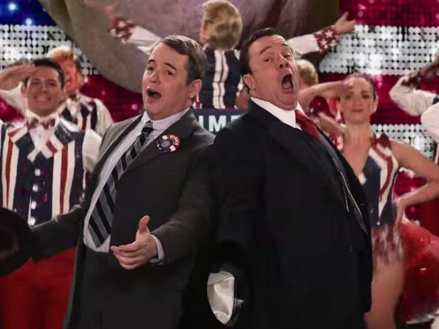 WI - Matthew Broderick - Nathan Lane - Jimmy Kimmel Live - 2/16