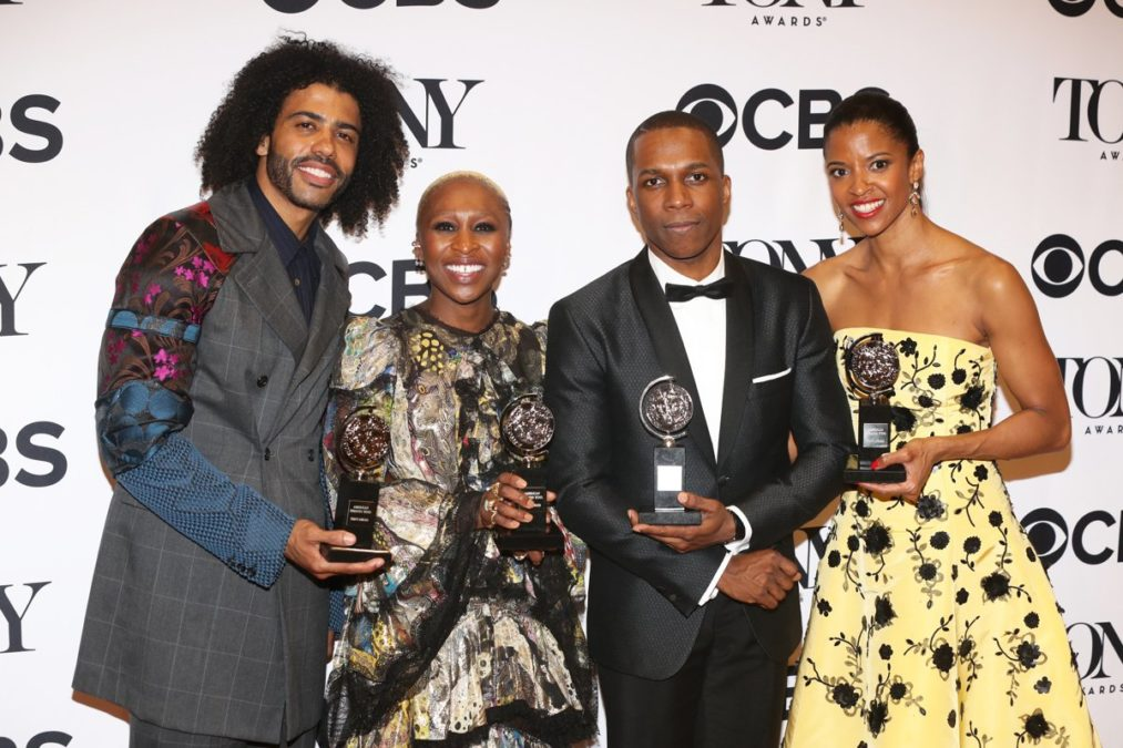 Still - 2016 Tony Awards - Daveed Diggs - Cynthia Erivo - Leslie Odom Jr. - Renee Elise Goldsberry - Photo: Emilio Madrid-Kuser