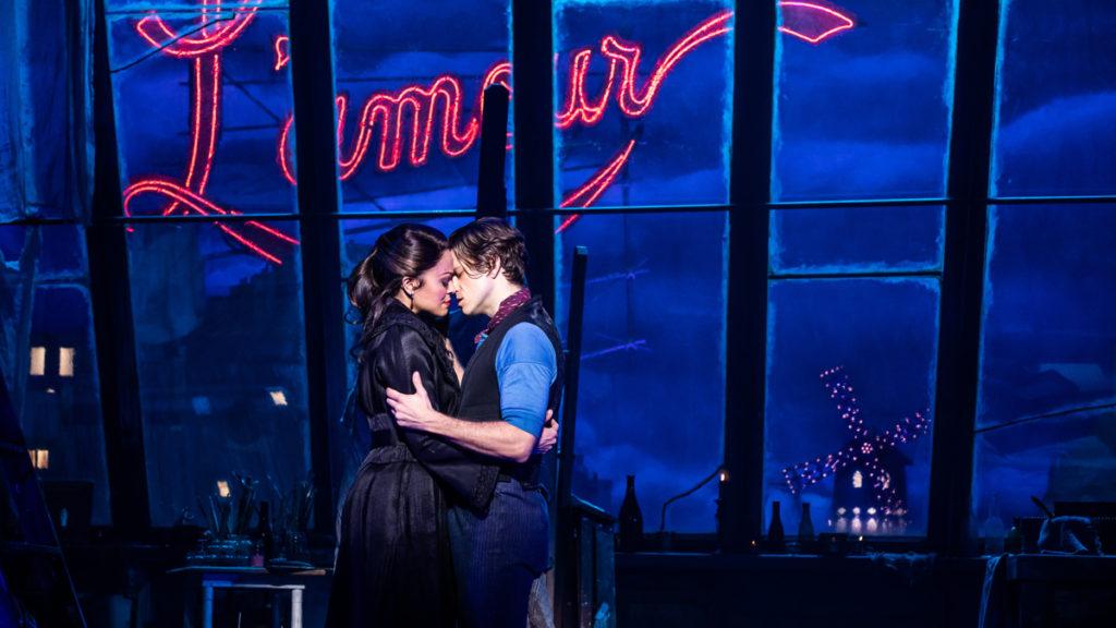 Show Photos - Moulin Rouge! - 7/19  - Karen Olivo - Aaron Tveit - Photo: Matt Murphy